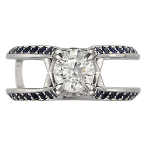 Juicy Scaffold Engagement Ring