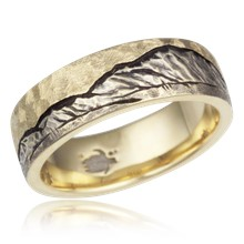 Mountain Machinist Wedding Band