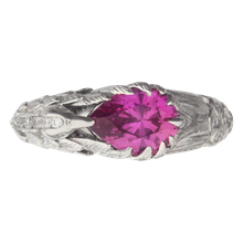 Hummingbird Engagement Ring - top view