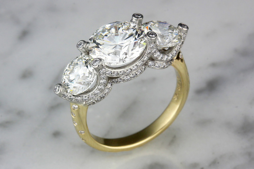 ring vajra a pic engagement queens rings product home