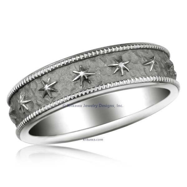 Starry Night Wedding Band