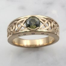 Celtic Ring - top view