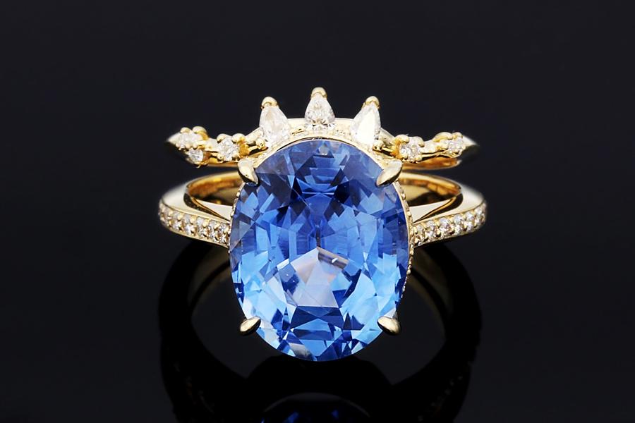 cb8e68c4cd3e4 Raindrop Dazzle Engagement Ring