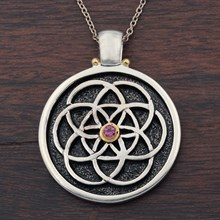 Flower Of Life Pendant - top view