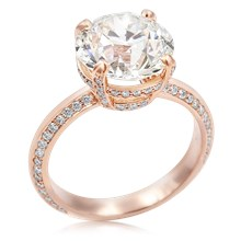 Juicy Solitaire Engagement Ring