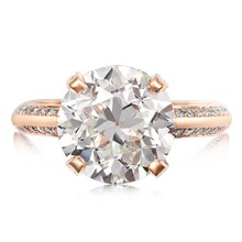 Juicy Solitaire Engagement Ring - top view