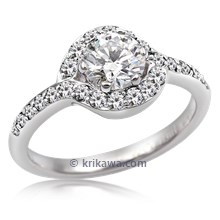 Loving Embrace Engagement Ring