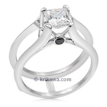 Juicy Light Scaffold Engagement Ring