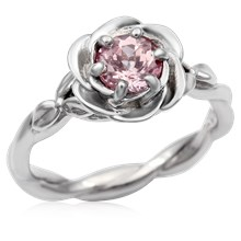 Twisted Rose Engagement Ring