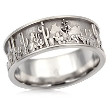 Southwest Lovers Wedding Band