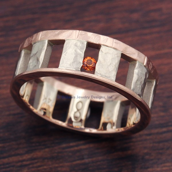 Stonehenge Wedding Band