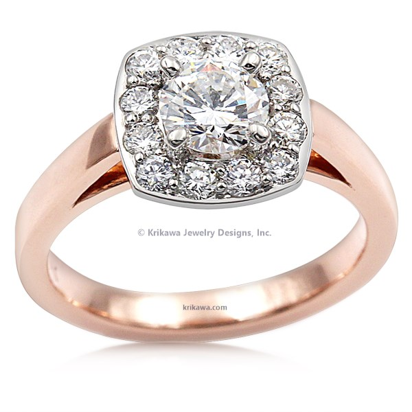Perfect Halo Engagement Ring