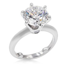 Ultimate Solitaire Engagement Ring