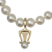 Enhancer Pendant with Pearls