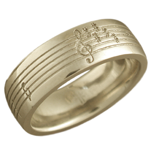 ... wedding ring this custom wedding band has been etched with a music