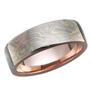 High Polish Wedding Band