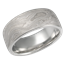 Unusual Platinum Mokume Gane Wedding Band