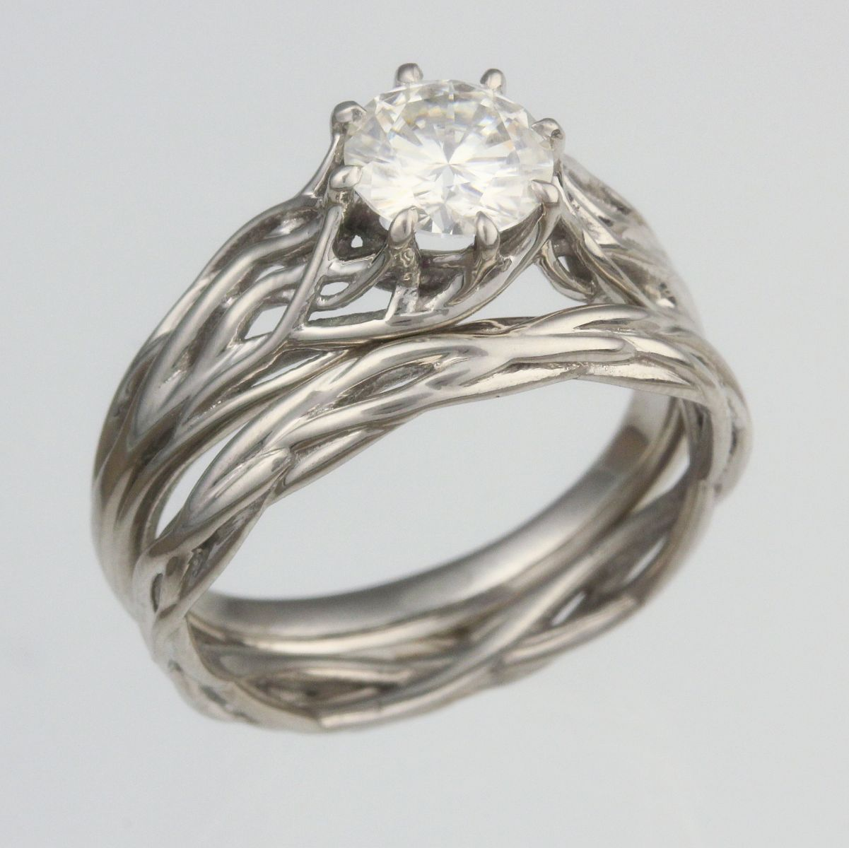 Gorgeous Engagement Rings From The Krikawa Collection, Colorized With Your  Choice Of Center Stone, Accent Stone, Metal Color And Mokume Type Enjoy!