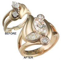before and after jewelry repair