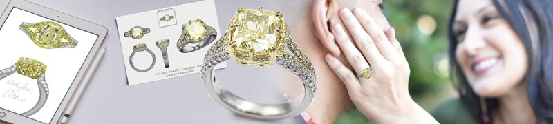 design your own custom engagement rings