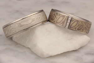 Mokume Ring Comparison