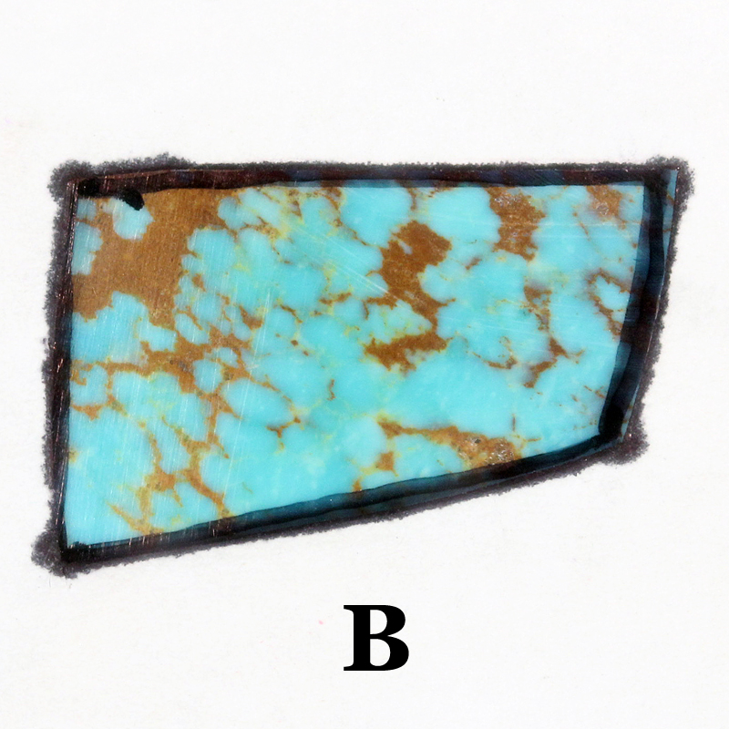 Turquoise Cab Ring option B