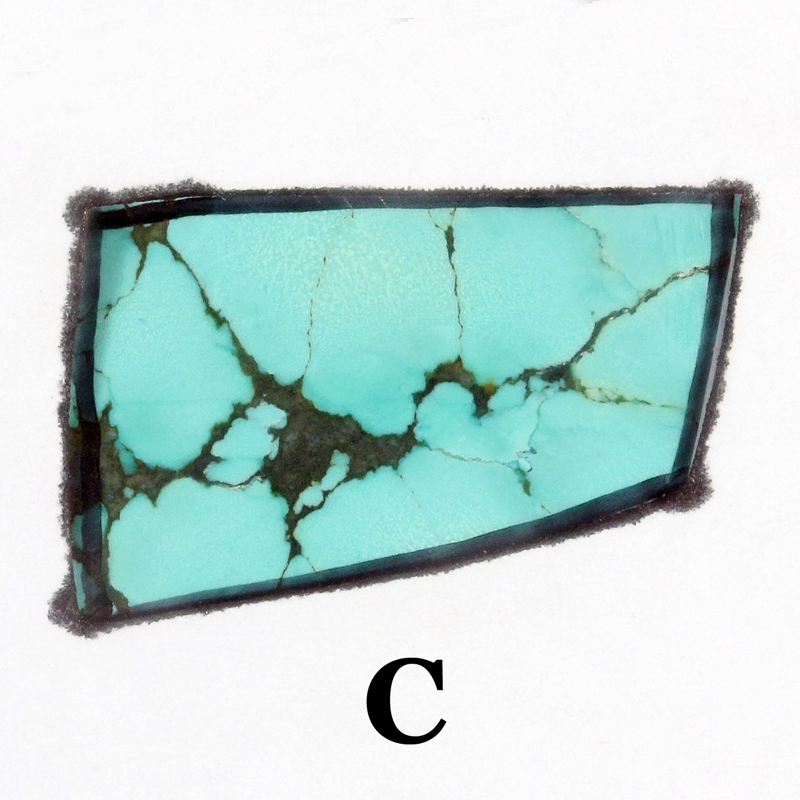 Turquoise Cab Ring option C