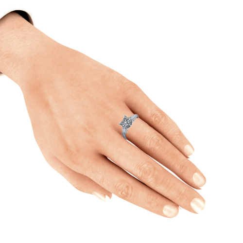 Diamond Leaf Solitaire on hand