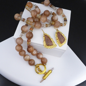 Earrings and Necklace Set2