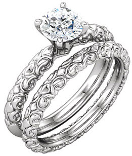 western engagement ring