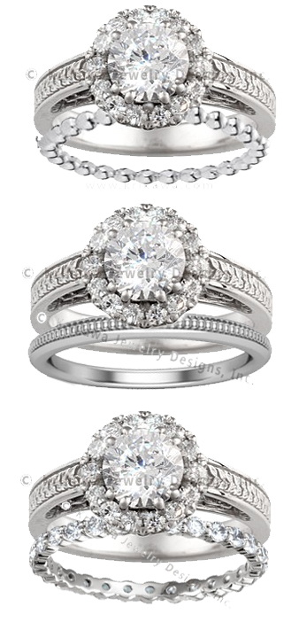 Wedding Band Options for Engagement Ring