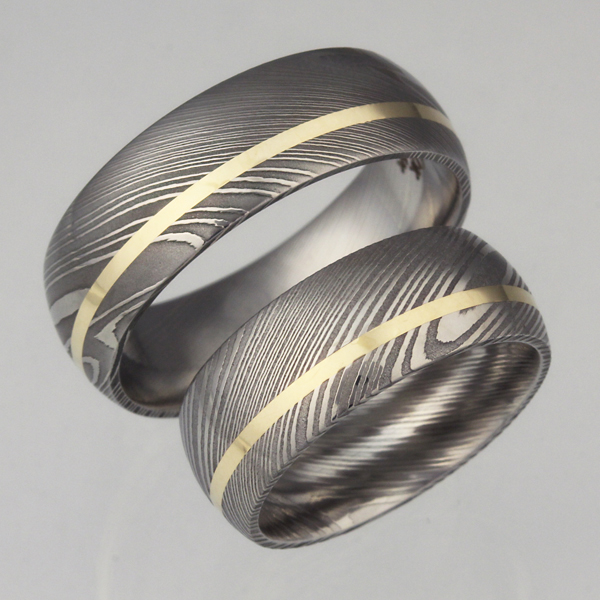 Damascus Wedding Set