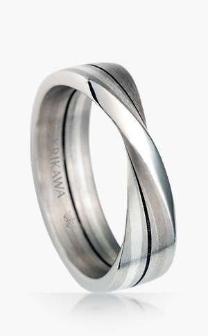 Mens rings unique unusual cool mobius strip wedding band junglespirit Choice Image