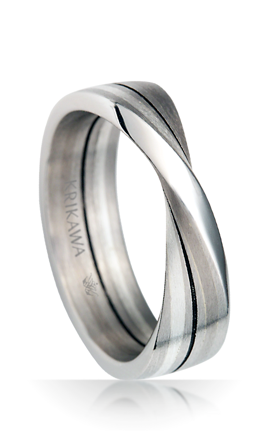 Mobius Strip Wedding Band