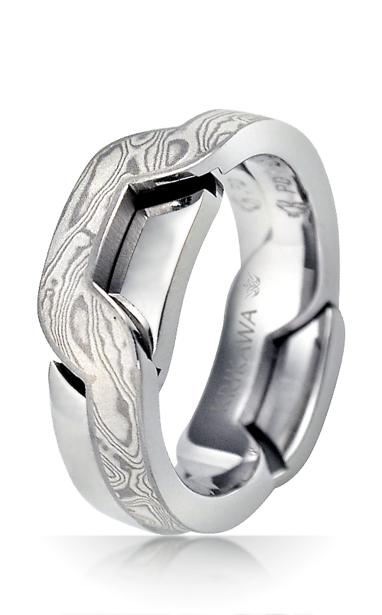 Interlocking Puzzle Wedding Rings