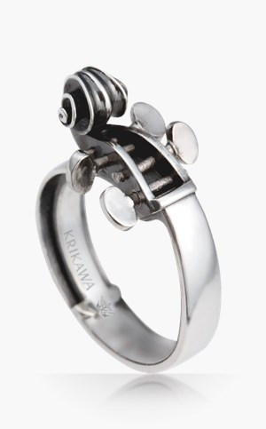 music cello ring - Creative Wedding Rings