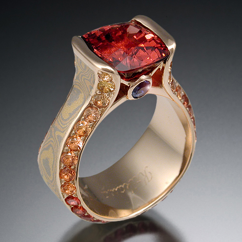 red-spinel-engagement-ring