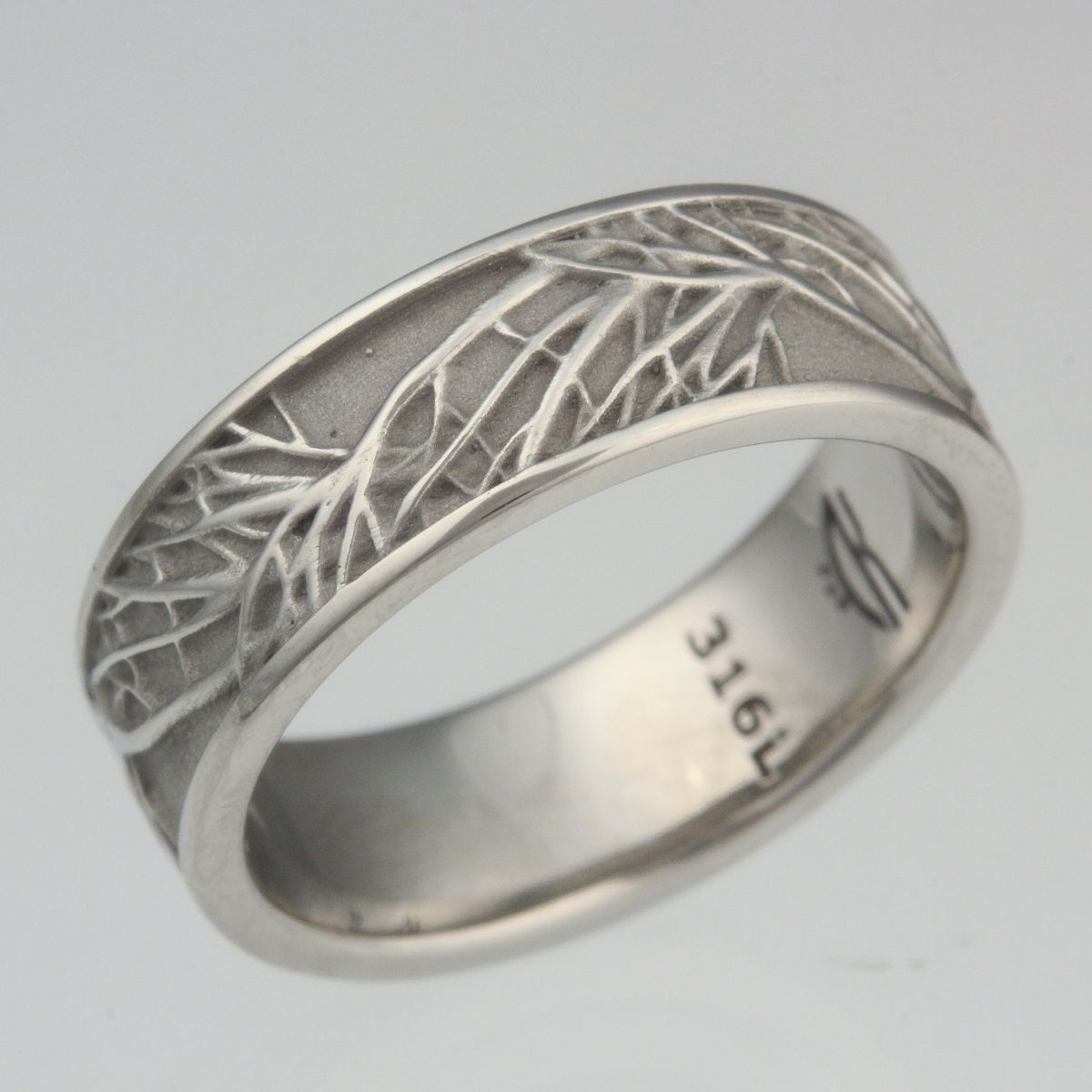 69 nickel allergy wedding ring sparkling platinum
