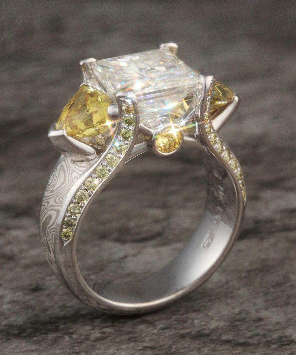 moissanite best alternative for engagement rings