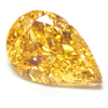 fancy intense yellow-orange diamond