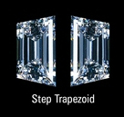 Step cut trapezoid