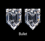 bullet diamond pair