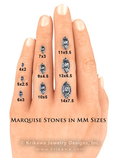 Marquise Cut Diamonds on Hand