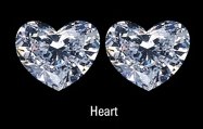 heart diamonds