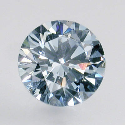 Lab Created Blue Diamond