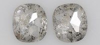 matched pair salt and pepper diamond