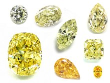 fancy colored yellow diamonds
