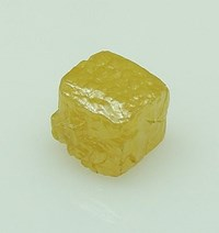 rough diamond cube