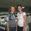Lisa Krikawa and Jackie Wolfstein in Asia