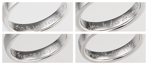 inside ring inscriptions - Wedding Ring Inscriptions